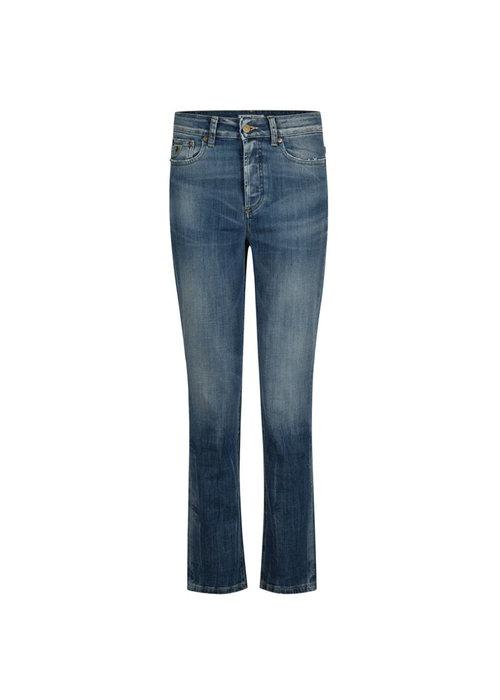 Lois Jeans Retro Fit Rub Tobacco Jeans 7/8 Lengte