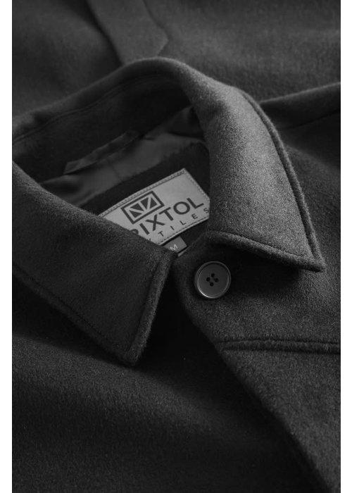 Brixtol Textiles T-Coat Wool Black