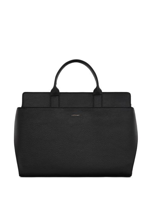 Matt & Nat Gloria Satchel Hand Laptop Bag Black