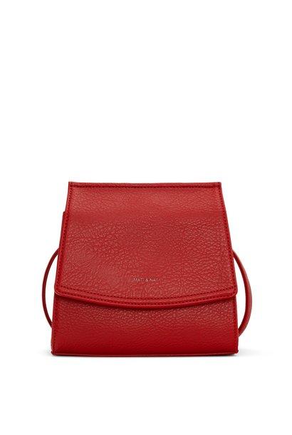 Erika Crosbody Red Vegan Leather