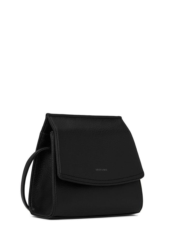 Erika Crosbody Black Vegan Leather