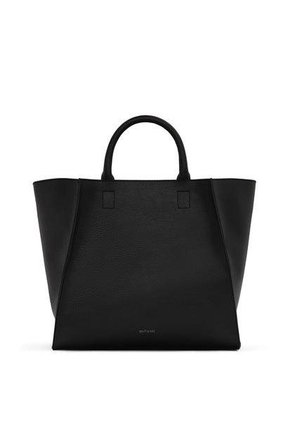Loyal Handbag Black Vegan Leather