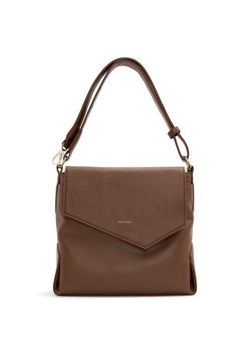 Matt & Nat Monkland Dwell Handbag Brown