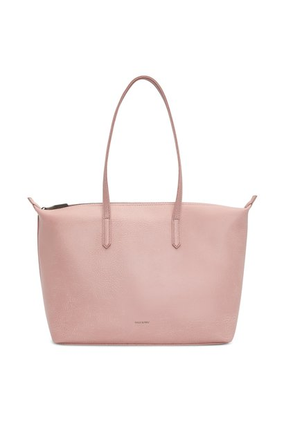 Abbi Tote Shoulder Bag Pebble Pink