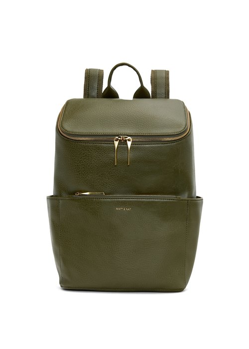 Matt & Nat Brave Dwell Backpack Leaf Green