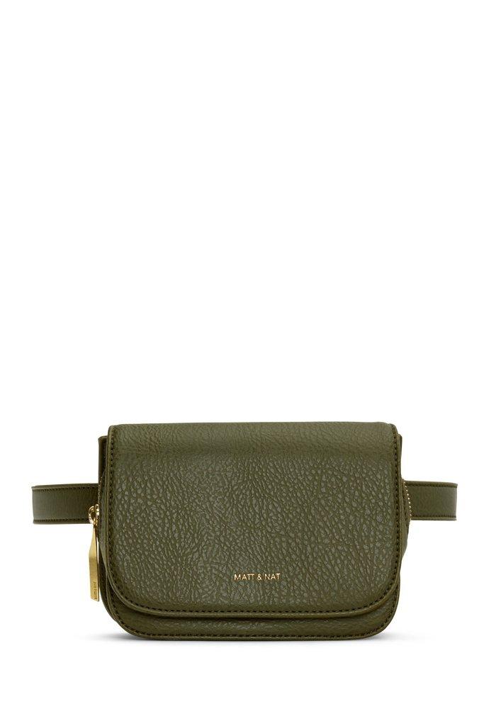 Park Waist Fanny Bag In Leaf Green