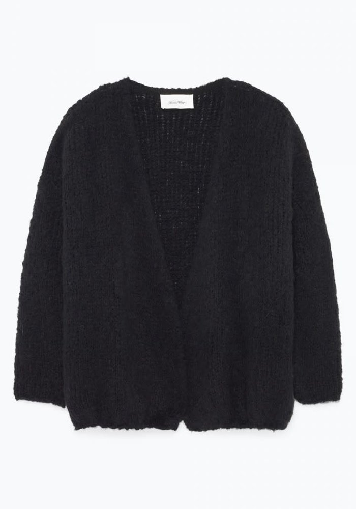 Boolder Knitted Vest Black