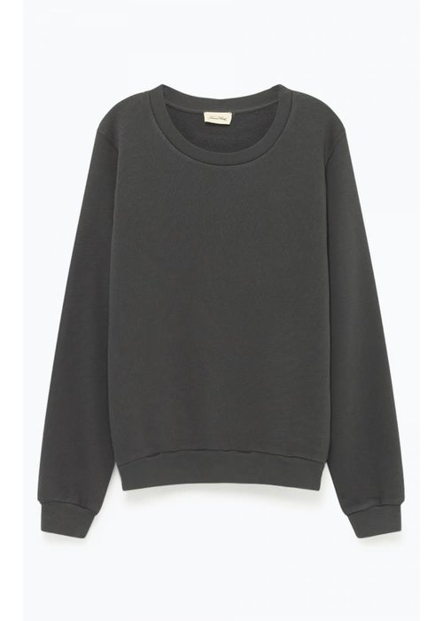 American Vintage Kinouba Sweater Carbon Black