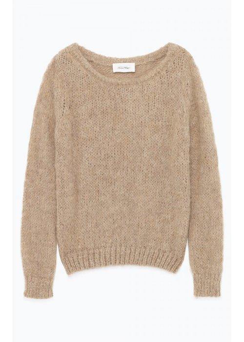 American Vintage Manina Levain Knitwear Sand