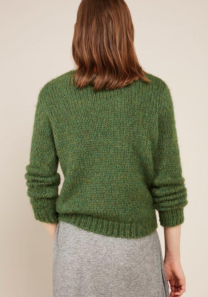 Manina Knitwear Spring Melange Green