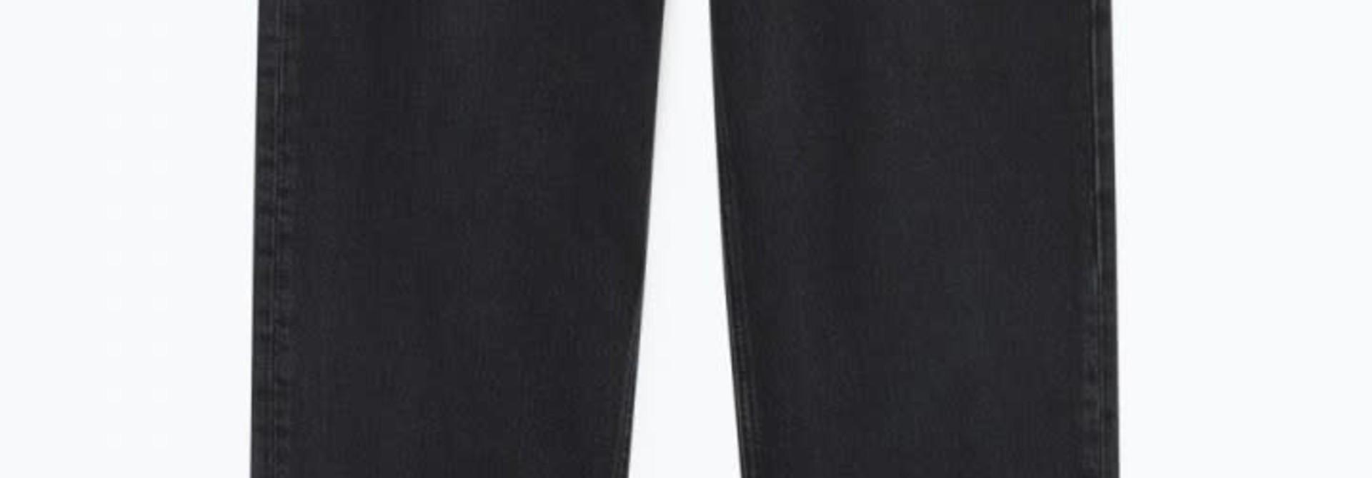 Yopday Black High Waist Mom Jeans