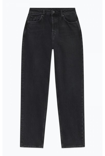Yopday Black High Waist Mom Jeans