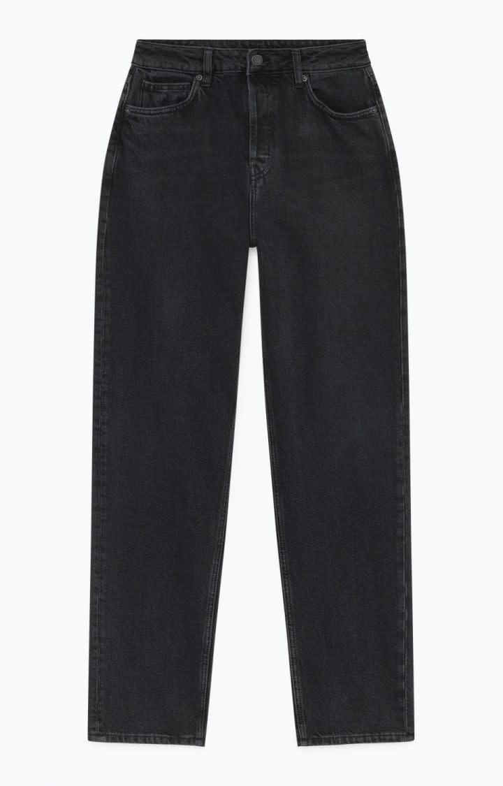 Yopday Black High Waist Mom Jeans-1