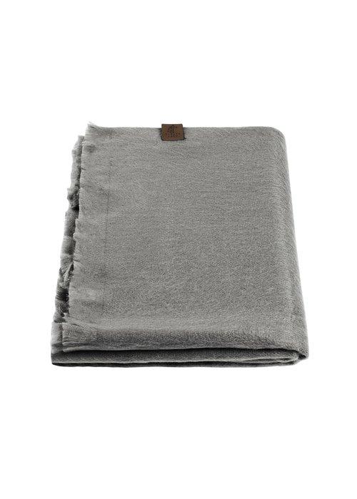 Alpaca Loca Alpaca Wool Scarf Grey
