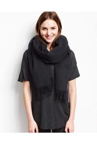 Nia Wool Scarf Black