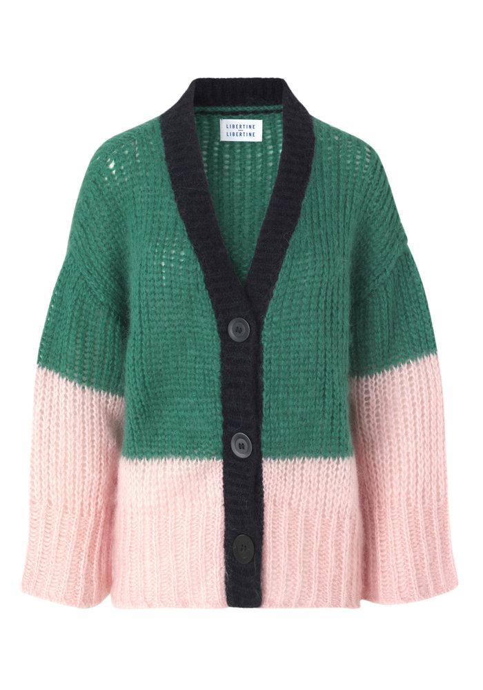 Active Wool Vol Green Power Vest