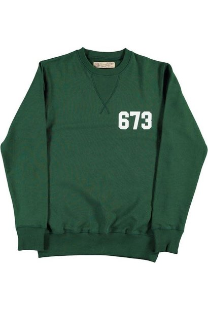 College Heavy Fleece Sweat Green