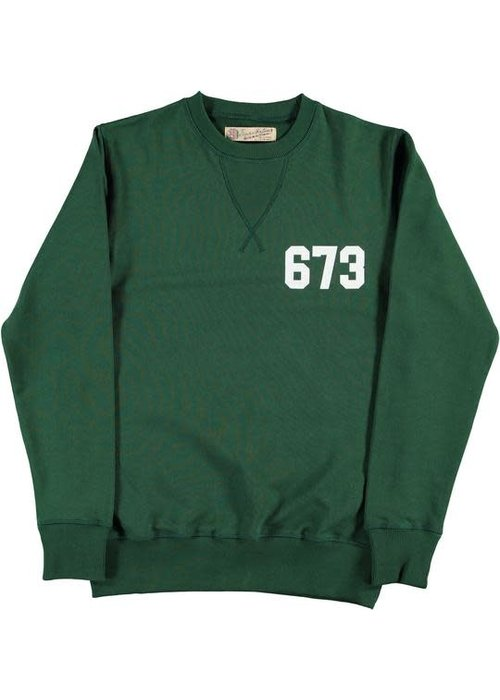 Eat Dust College Heavy Fleece Sweat Green