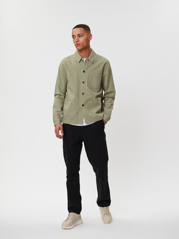 Napoli Work Shirt Saga Green-4