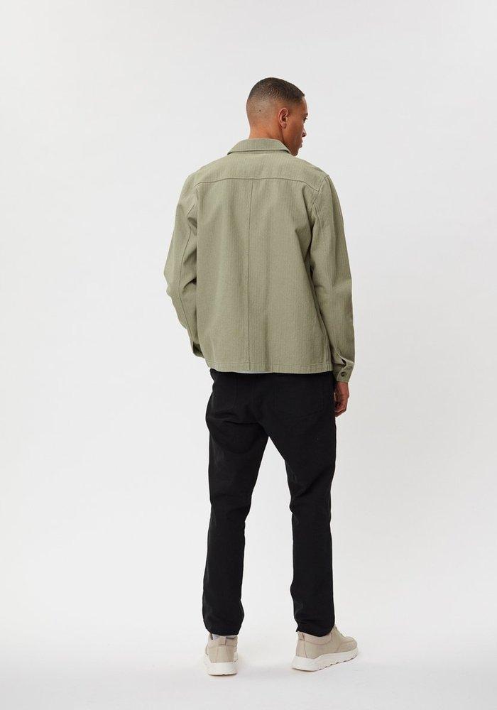 Napoli Work Shirt Saga Green