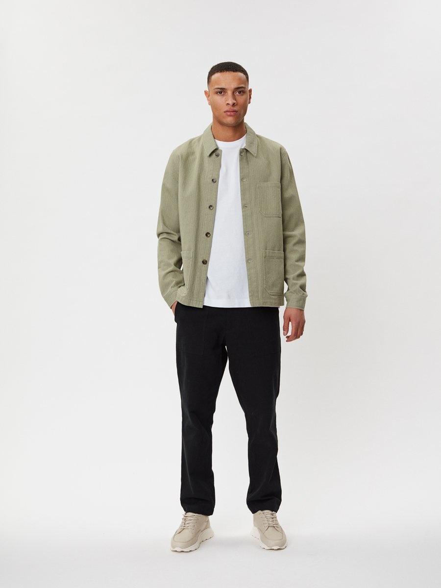 Napoli Work Shirt Saga Green-2