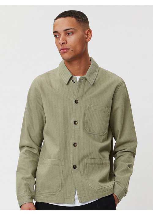 Legends Napoli Work Shirt Saga Green