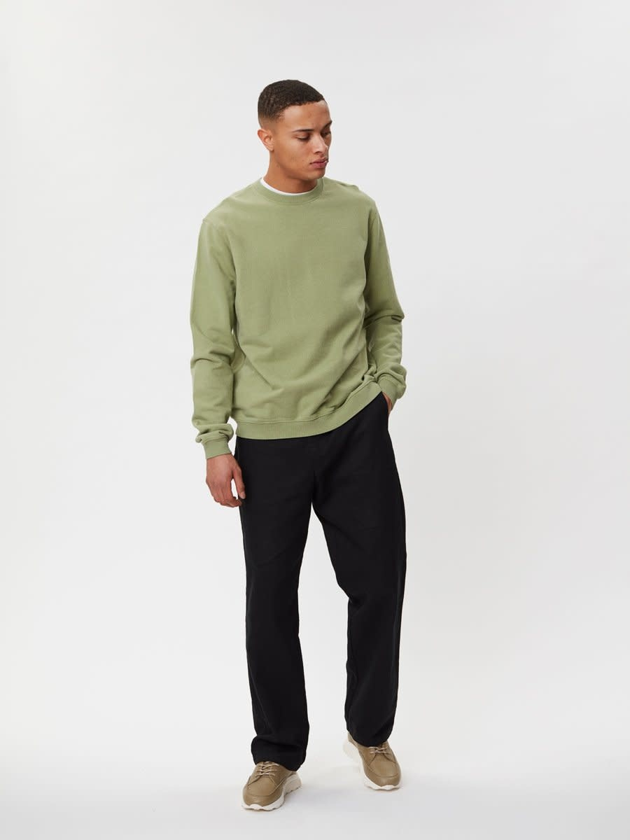 Pasadena Sweater Sage Green-1