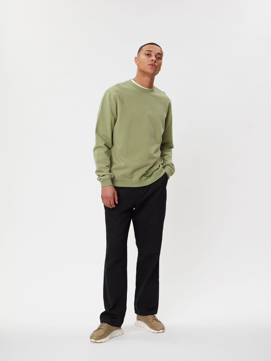 Pasadena Sweater Sage Green-2