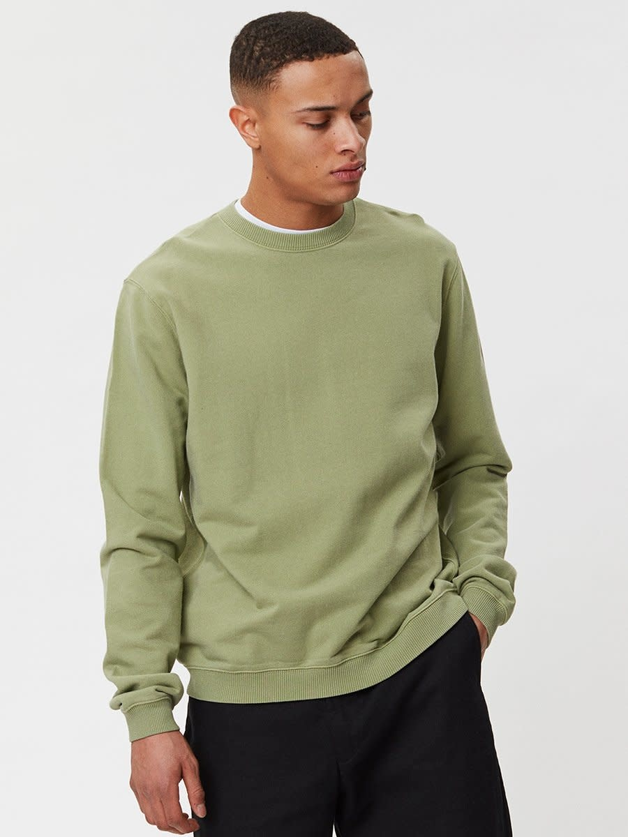 Pasadena Sweater Sage Green-3