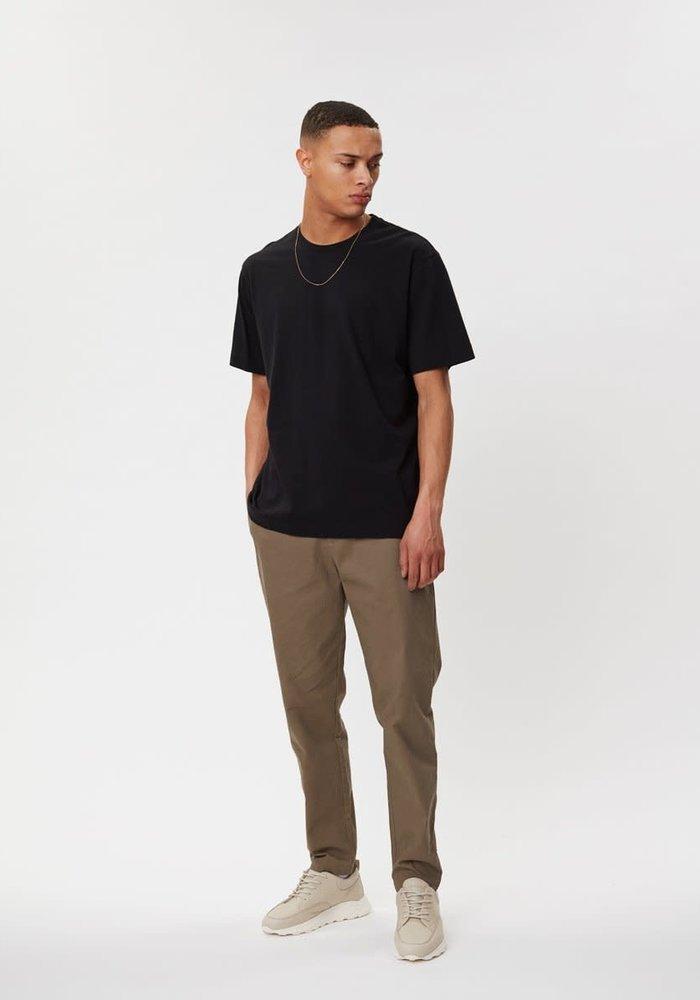 Delano Cotton T-Shirt Black