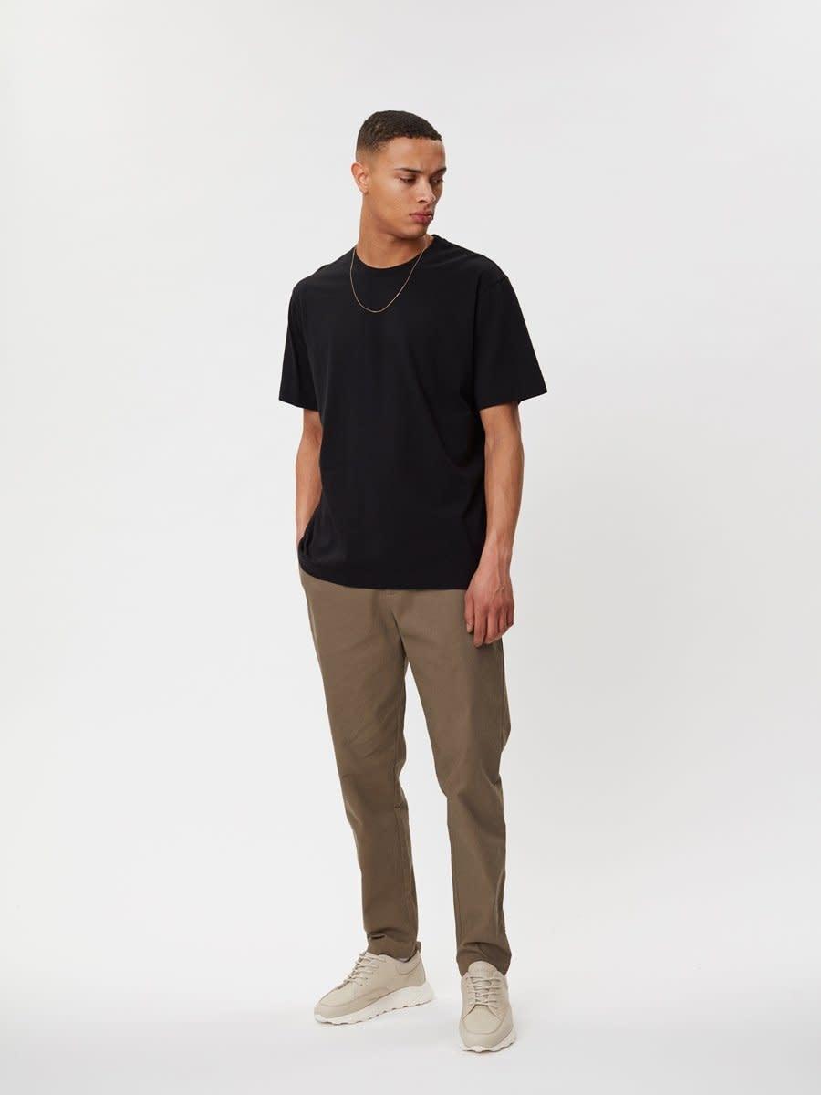Delano Cotton T-Shirt Black-1