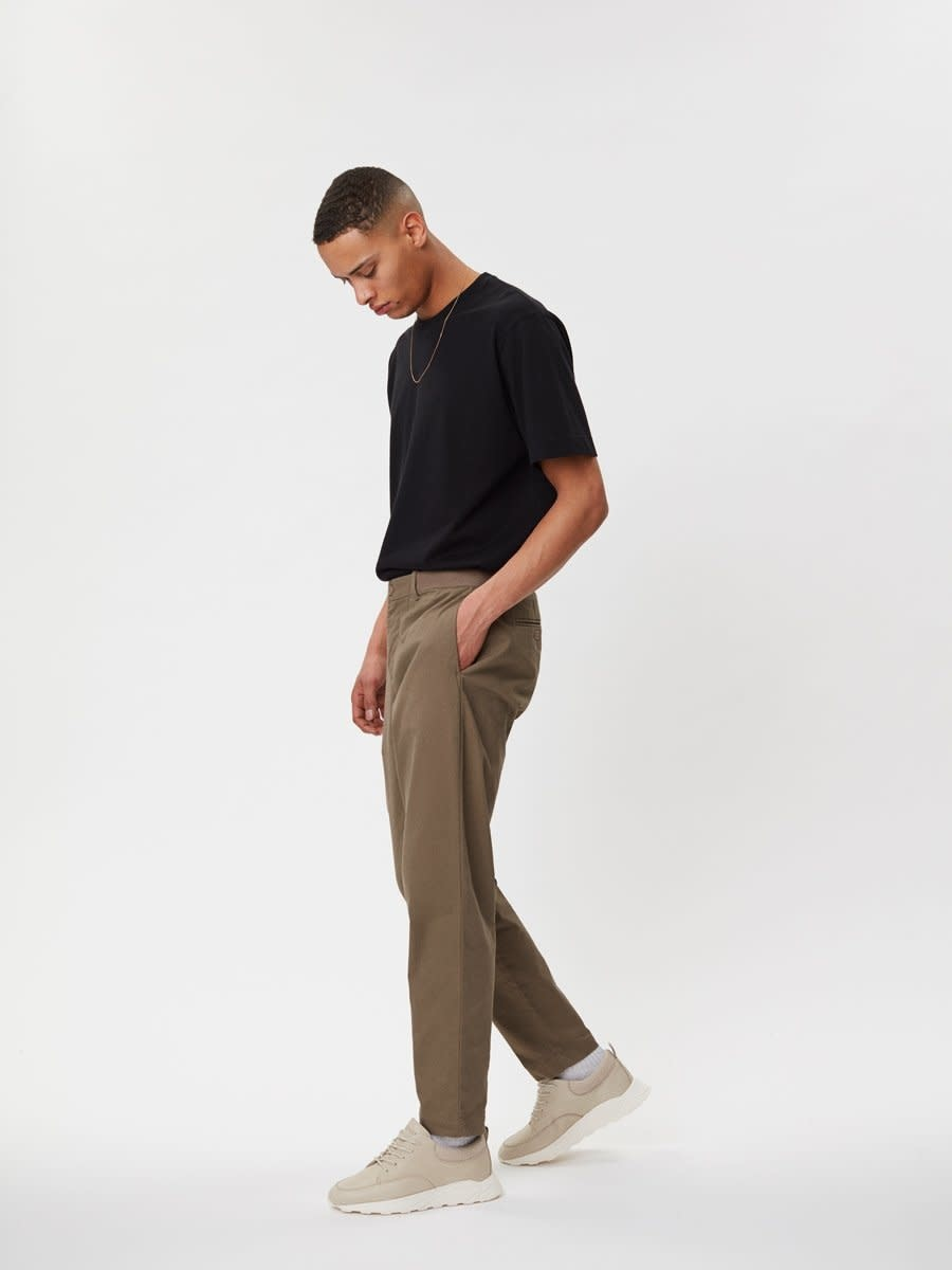 Delano Cotton T-Shirt Black-4