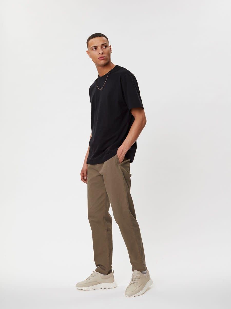 Delano Cotton T-Shirt Black-5