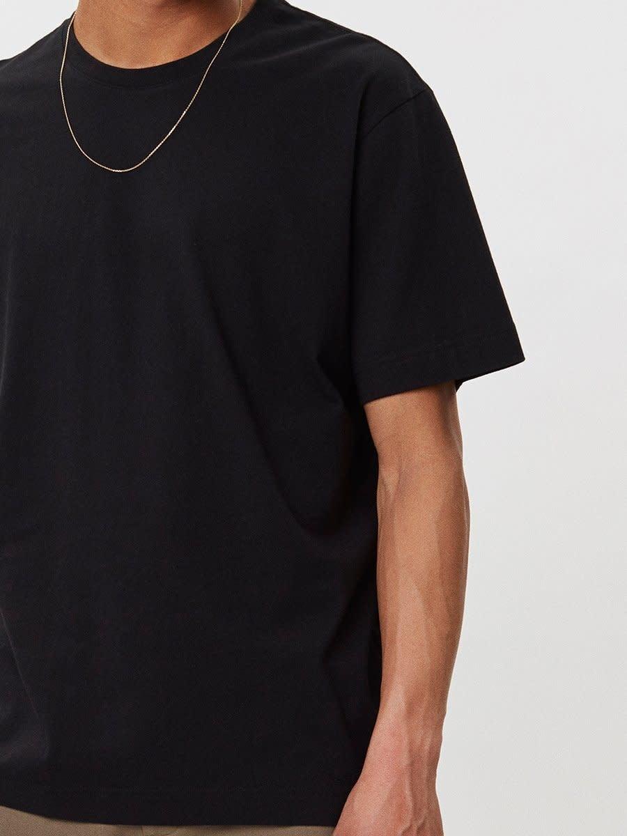Delano Cotton T-Shirt Black-3