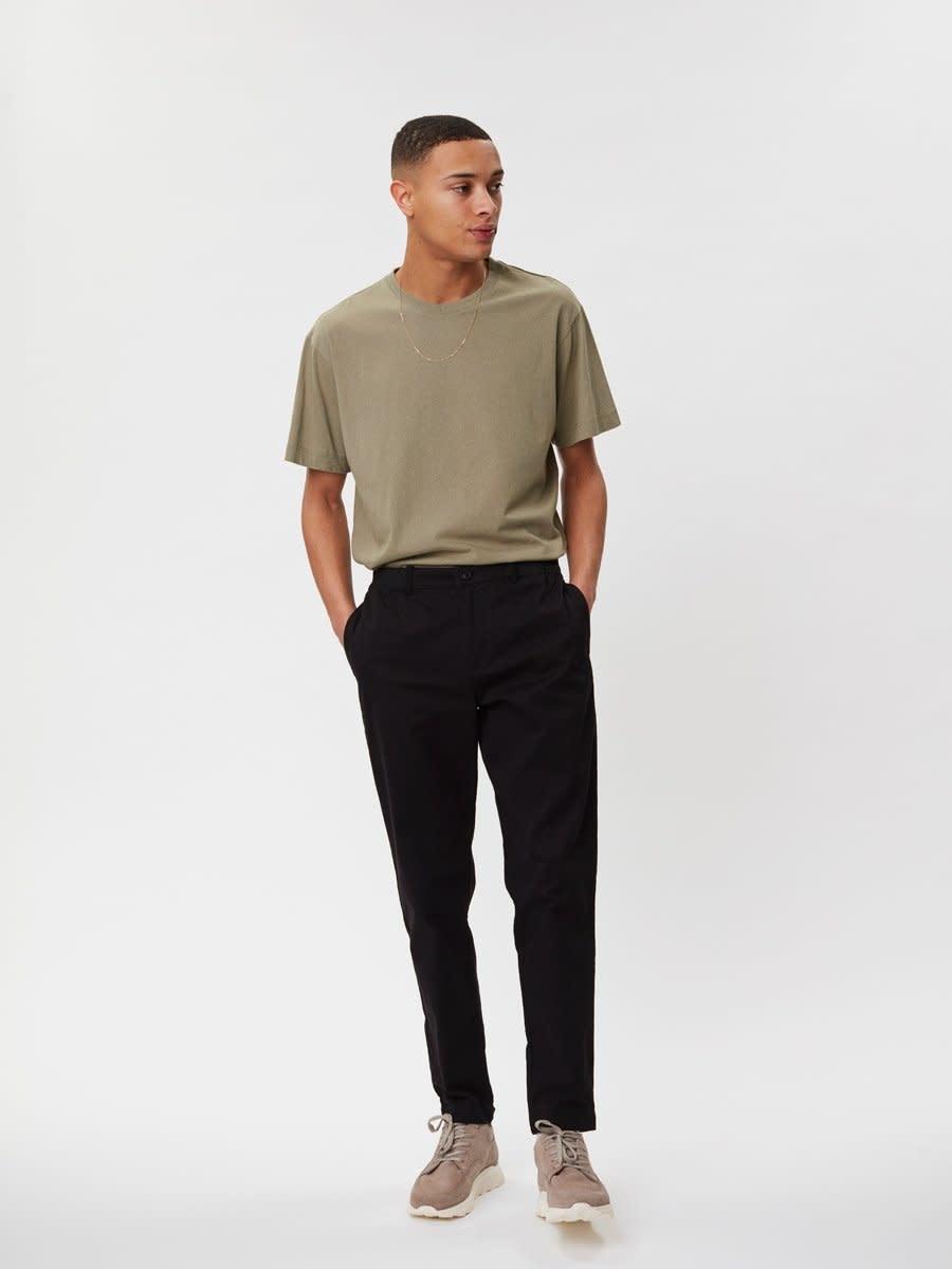 Delano Cotton T-Shirt Sage Green-1