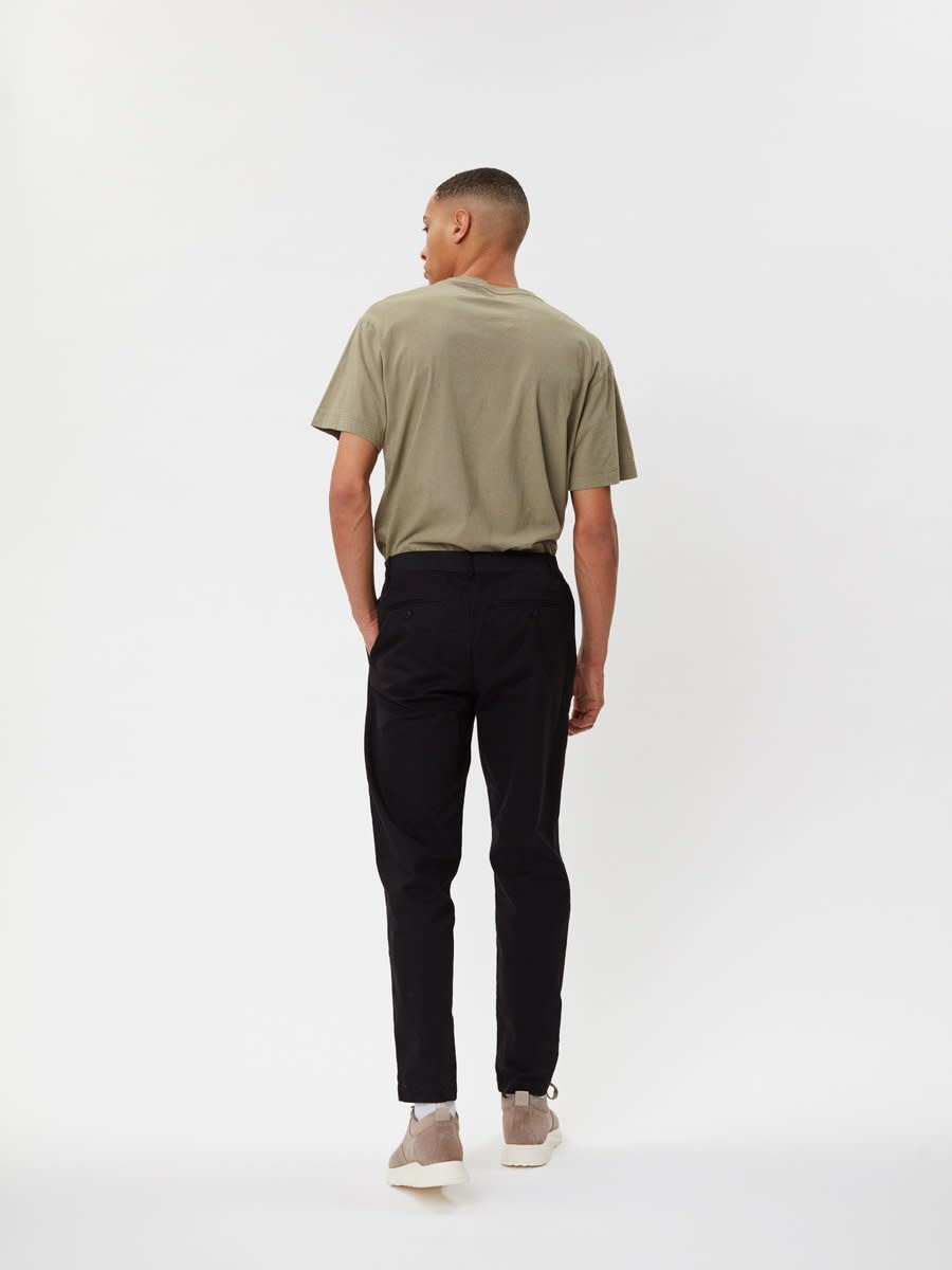 Delano Cotton T-Shirt Sage Green-2