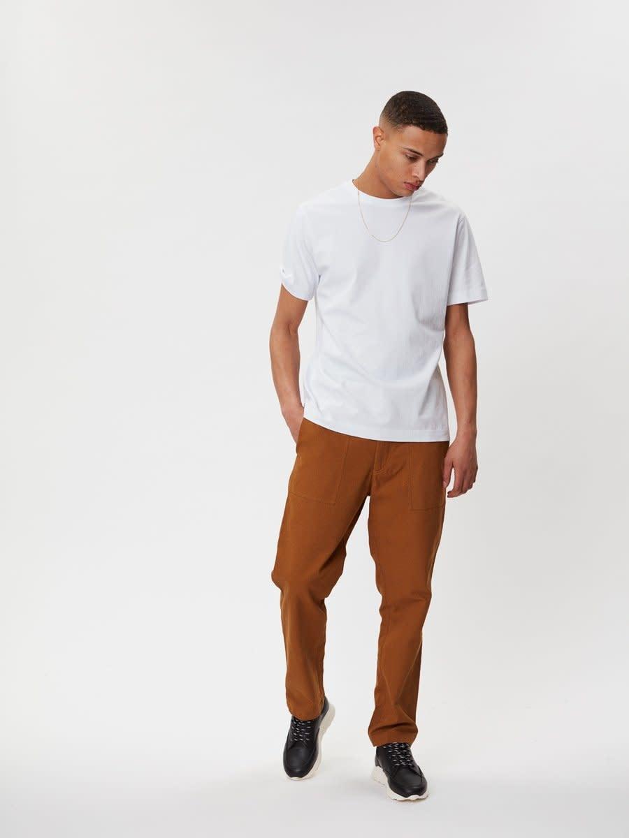 Delano Cotton T-Shirt White-1