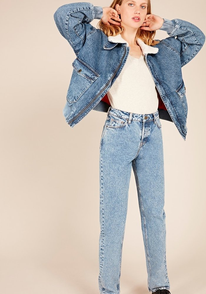 Wipy Stone Salt Pepper Jeans