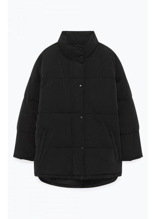American Vintage kenibird Black Puffer Jacket