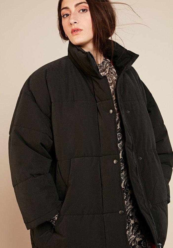kenibird Black Puffer Jacket