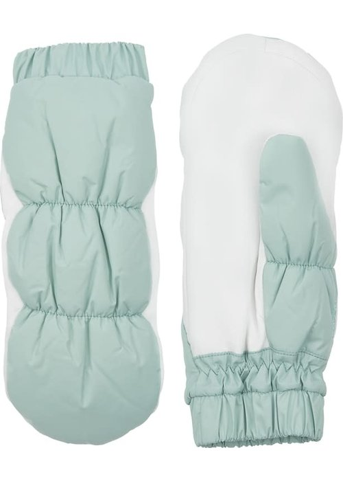 Hestra Gloves Emily Mint White Deerskin Leather Want
