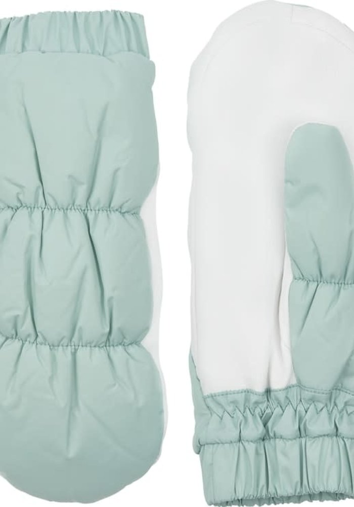 Emily Mint White Deerskin Leather Want