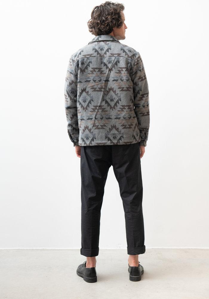 Robin Nordic Dark Brown Overshirt