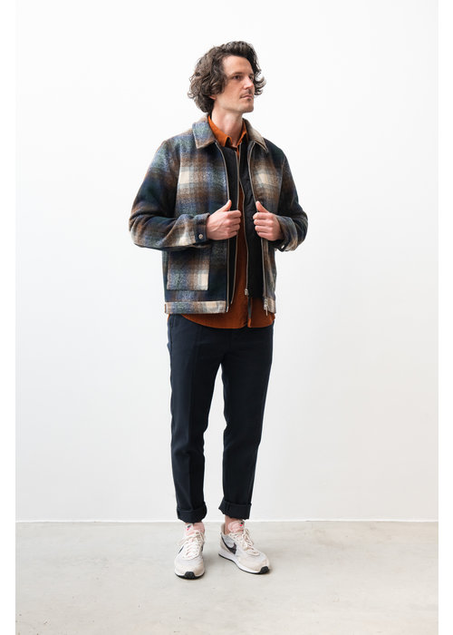 Legends Ortega Brown Checker Jacket