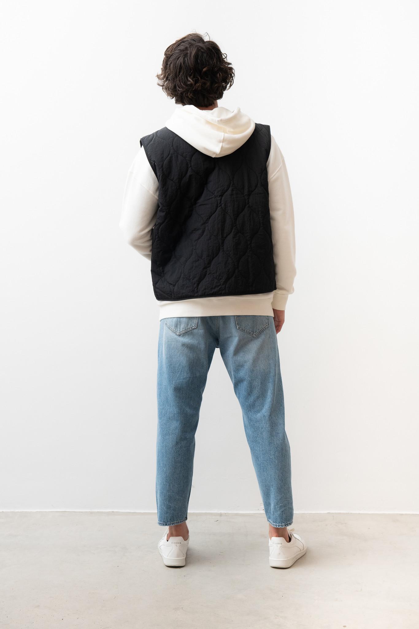 Hobson Quilted Vest Black-3