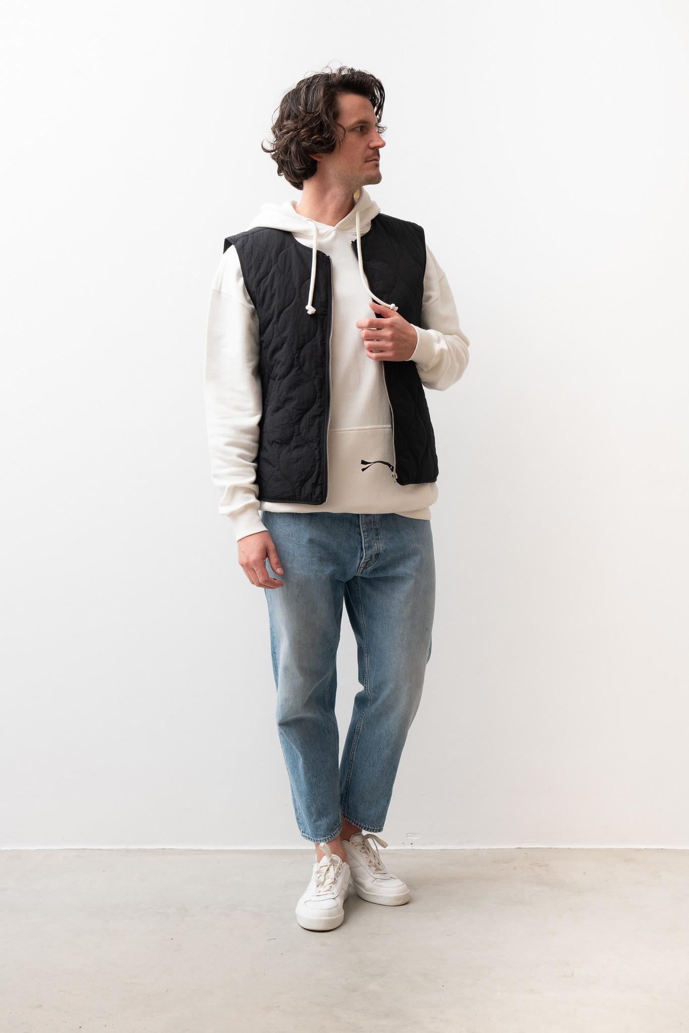 Hobson Quilted Vest Black-4