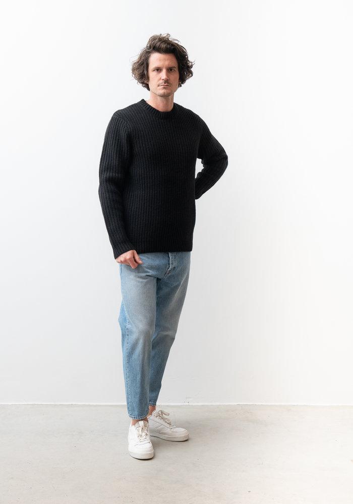 Cartona Lambswool Knitwear Black