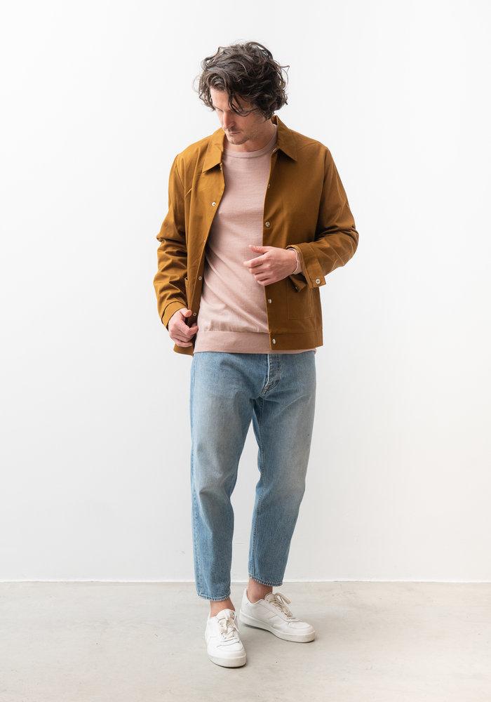 Lima Worker Jacket Camel Brown