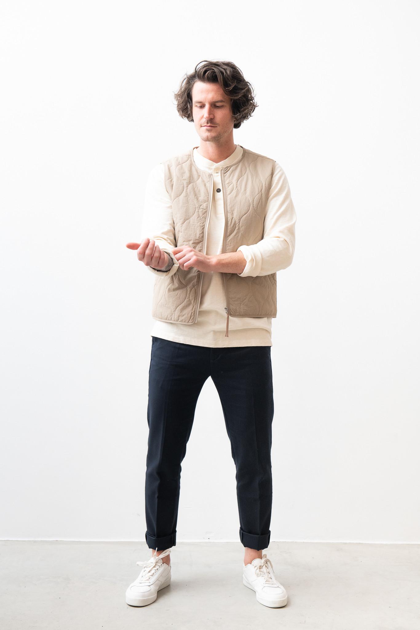 Hobson Vest Olive Green-1