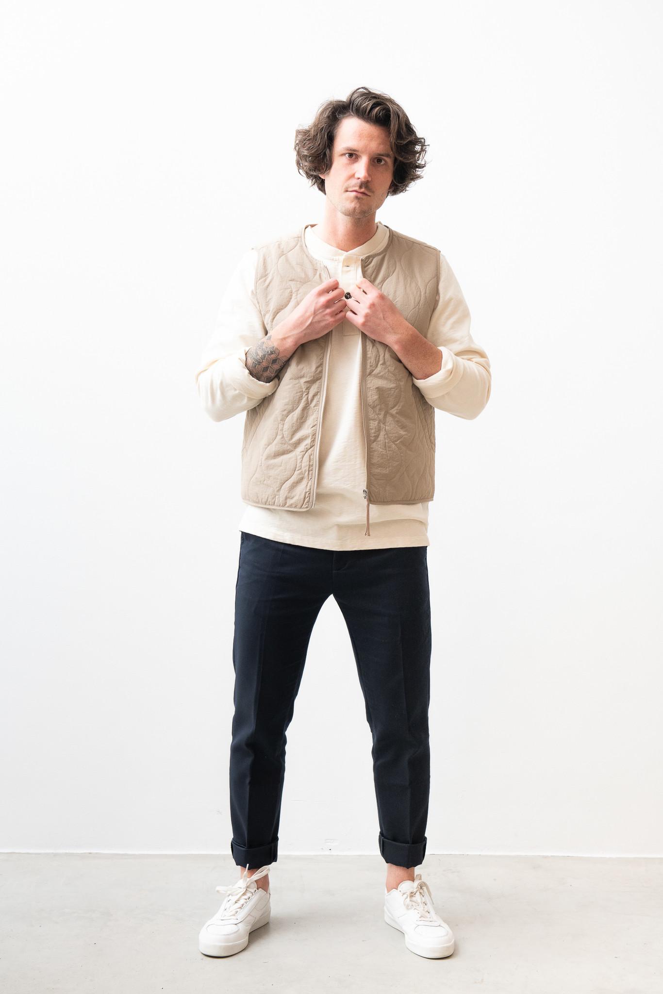 Hobson Vest Olive Green-4